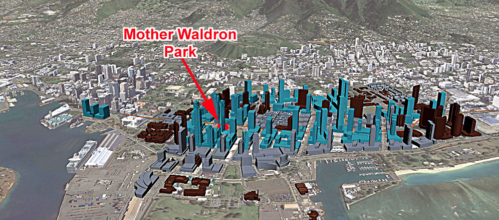 Kakaako EA Shows Future Major Rail TOD Ground Water Problems